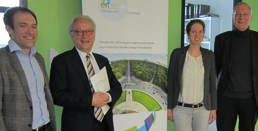 EU parliamentary leader visits Climate-KIC