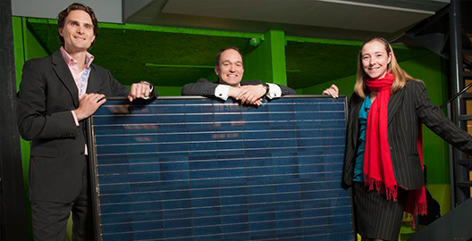 Climate-KIC solar start-up finds first customer