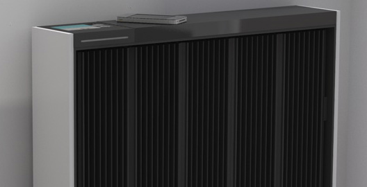 Qarnot Computing has developed an electric radiator made of  high-performance processors