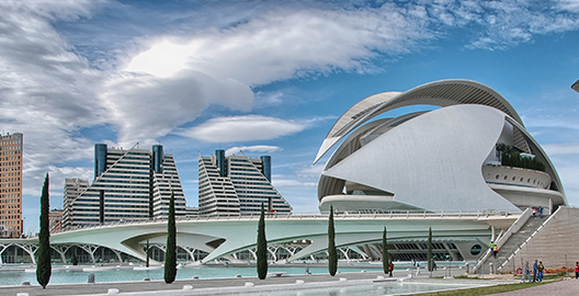 Valencia features some of Europe's most innovative architecture