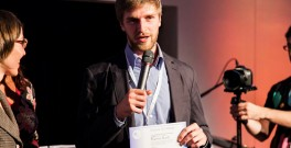 Marvin Kant received his Climate-KIC Masters certificate at a ceremony in Wroclaw, Poland