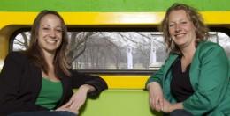 Plant-e's Nanda Schrama and Marjolein Helder