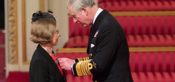 Climate-KIC CEO receives OBE at Buckingham Palace ceremony