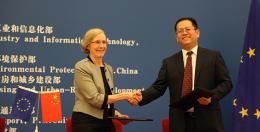 Mary Ritter in Beijing in November 2013