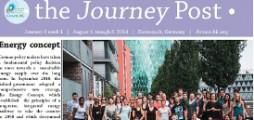 Something special: The Journey Post (Hessen, Zurich, Wageningen)