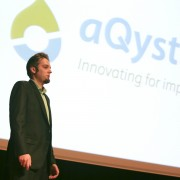 Fred Henny, CEO and co-founder of aQysta