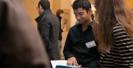 "Prageeth Jayathissa aka ""PJ"", outgoing Climate-KIC Alumni Association president (photos Frederike Asaël)"