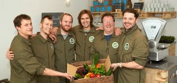 Successful launch of Europe's biggest city farm for fish and vegetables in Berlin