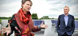 Climate-KIC start-up Sunfloat launches first floating solar field in Groningen, the Netherlands