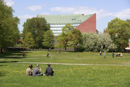 Aalto University Campus in Otaniemi, Finland
