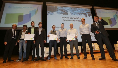 The winners of the Venture Competition 2014