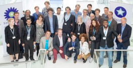 Climate-KIC ClimateLaunchpad participants and organisers in the Netherlands.