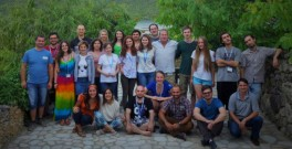 Participants and organisers of ClimateLaunchpad in Moldova