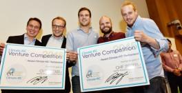 From left to right Stephan Koch and Andreas Ulbig, Adaptricity, and Lukas Bühler, Thomas Lehmann and Fabian Langensteiner, Zum guten Heinrich (photos Samuel Schumacher)