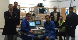 Team in the workshop 1