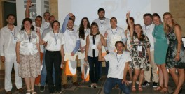 ClimateLaunchpad participants and the Cleantech Bulgaria team in Sofia last month.