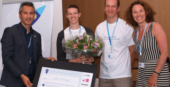 Belgian clean-tech entrepreneurs develop solar-powered water purifier