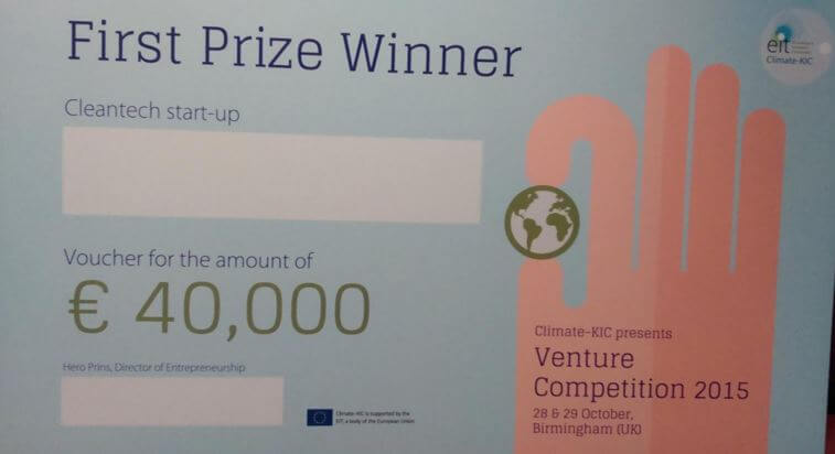 Here are the Twitter highlights from the 2015 Climate-KIC Venture Competition final in Birmingham