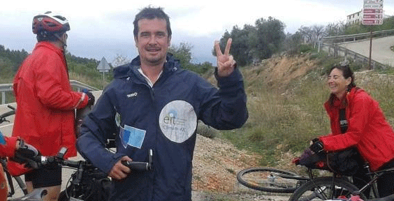 Spain's 'Solutions March': 1800 km by bike to deliver climate change petition to COP21 in Paris