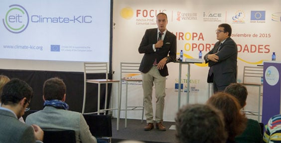 Photos: Climate-KIC highlights climate change during Day of the Entrepreneur in Valencia