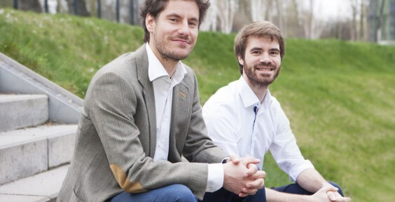 Gregor Rohbogner and Florian Kaiser (Co-Founders of Oxygen Technologies)