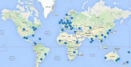 Climathon cities map June 2016 v2