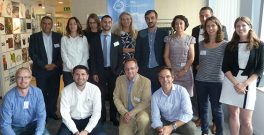 Colleagues and partners involved in the new scheme. Photo: Climate-KIC