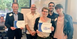 Nordic Ideation Day winners, Vejle and NTNU