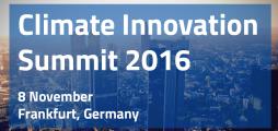 Climate Innovation Summit 2016