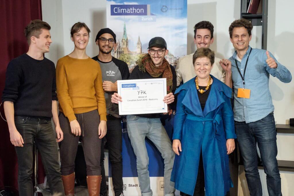 Climathon 2016 @ Impact Hub Zürich - Winners