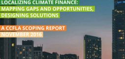 Cities Climate Finance Leadership Alliance lays out how cities and subnational bodies can finance solutions to climate change