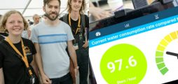 Climate-KIC start-up tests its smart water measuring system at Roskilde