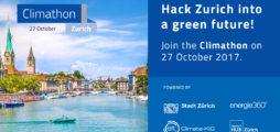Join #Climathon in Zurich!