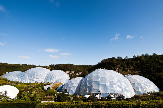 Eden @ Eden Project, Cornwall. Image via Flickr: Tim Parkinson
