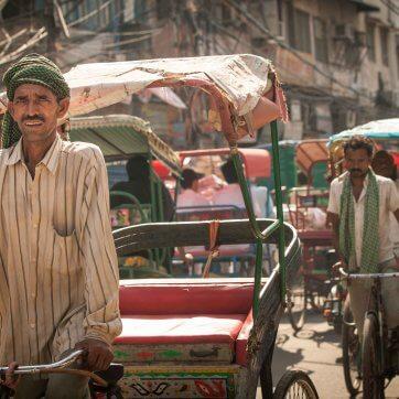 India city traffic