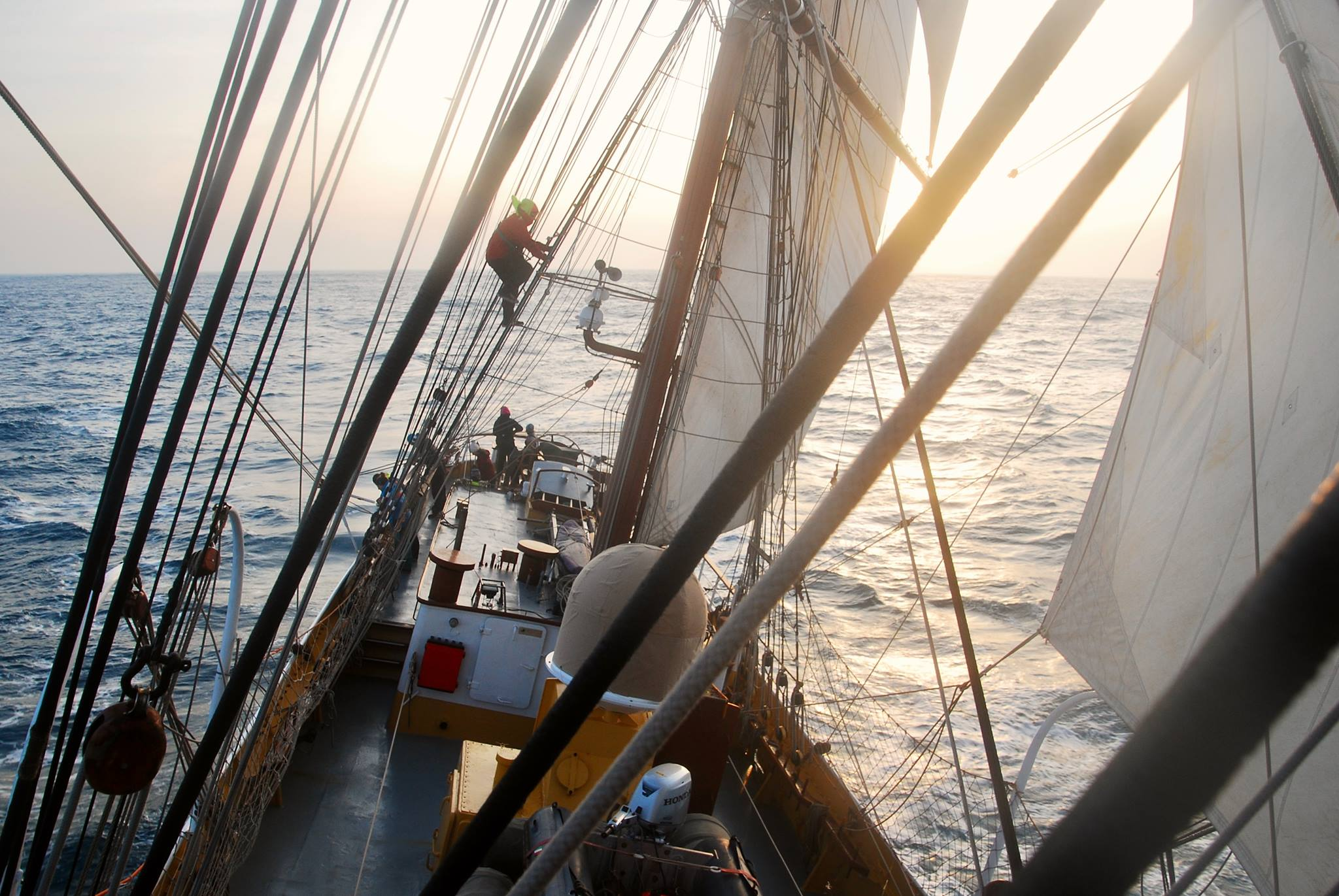 Climathon onboard 'Sail to the COP' - Climate-KIC