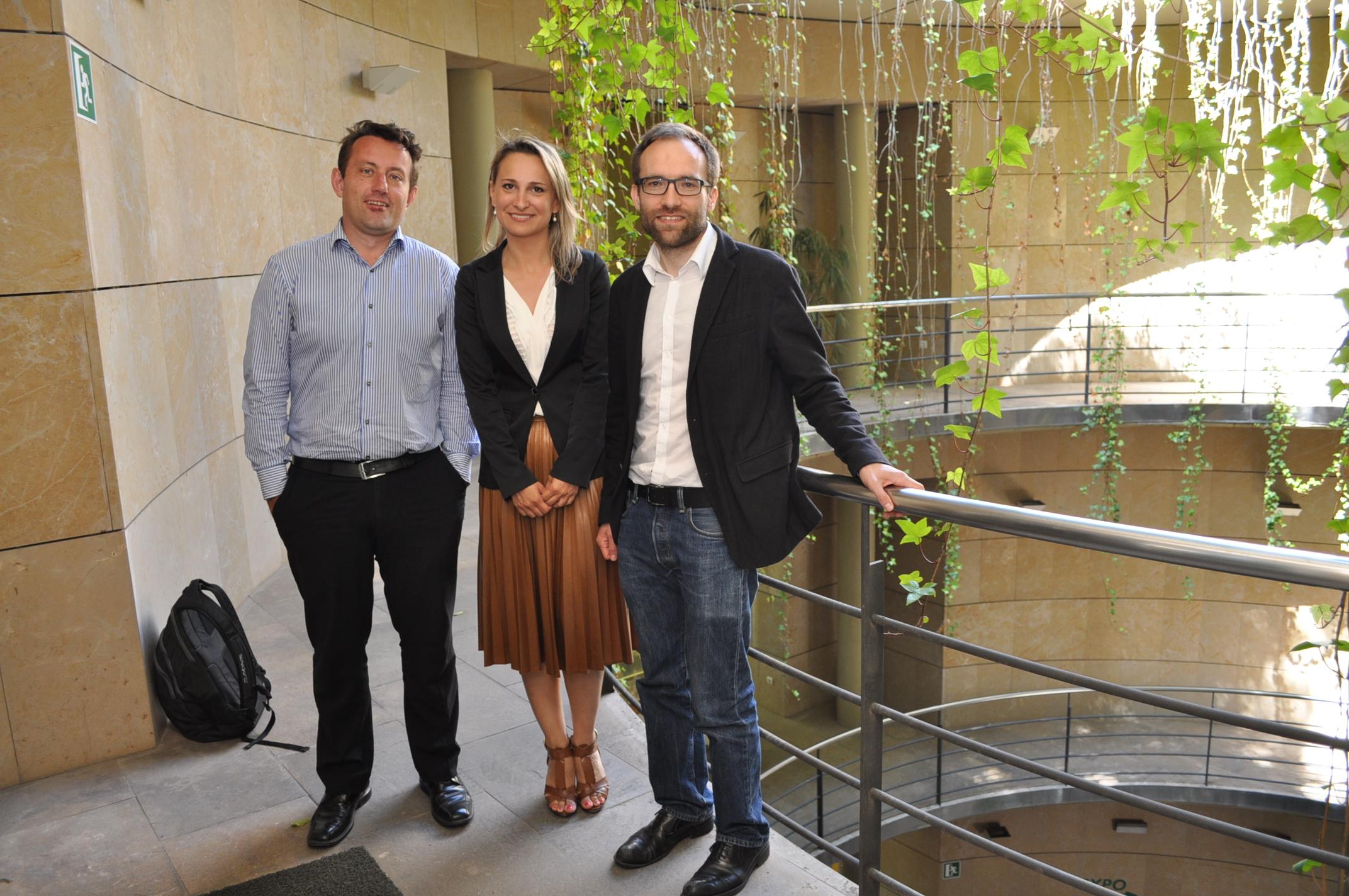 Laurent Roux, Bianca Dragomir and Aaron Best