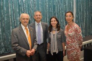 El Profesor Molina con miembros de Climate-KIC Valencia