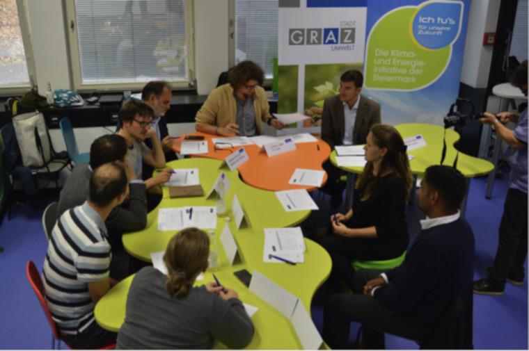 Climathon Graz 2018: Die Jury berät sich
